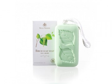 ROYAL SWEDISH Birch Leaf Soap-on-a-rope