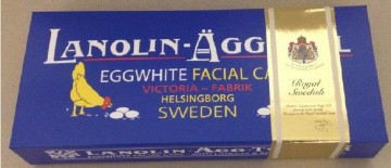 Lanolin Egg Soap Scandinavian 6x50gr