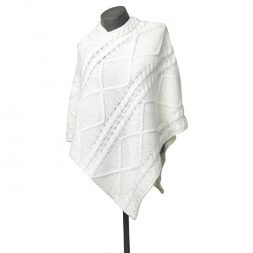 Poncho Liz, off white