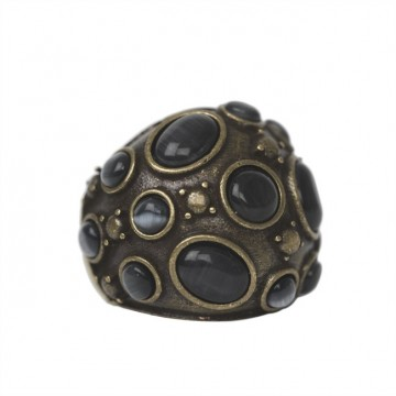 Ring Leja, black diamond