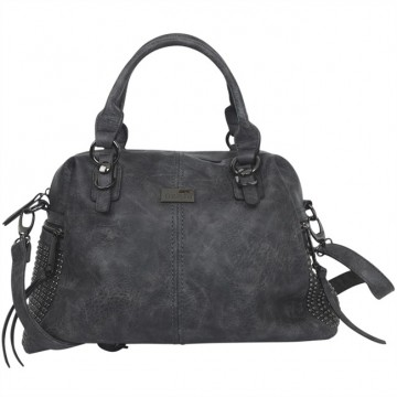 Shoulder bag Amanda, grey